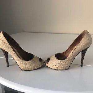 Fendi Peep Toe Shoes
